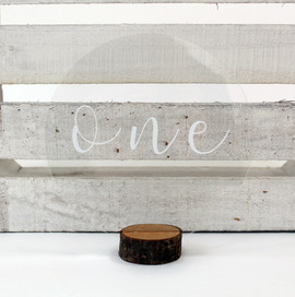 Circle Acrylic Table Number
