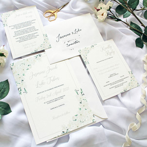 Blossom Invitations