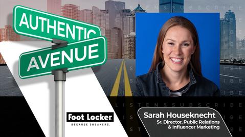 Foot Locker | Sarah Houseknecht: Walk a Mile in an Influencer's Shoes | Influencer Focus