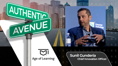 Age of Learning   Sunil Gunderia on Giving Our Future Hope in the Classroom
