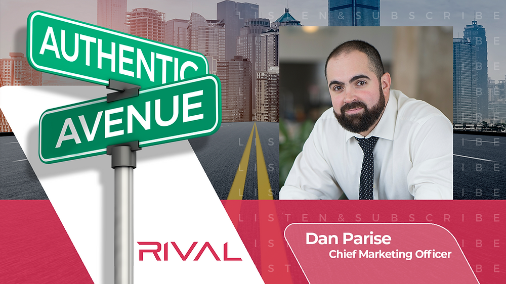 This is the Authentic Avenue podcast episode featuring Dana Marineau, Chief Marketing Officer of Rakuten, with host Adam Conner.