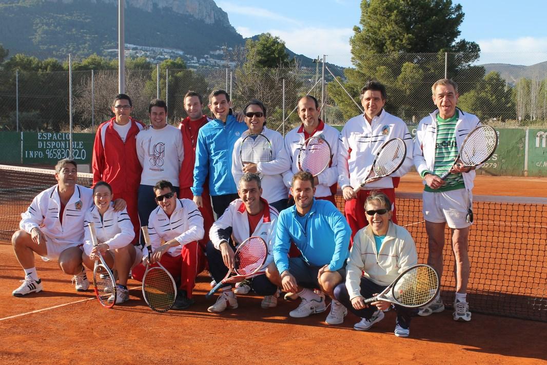 Equipo masculino tenis