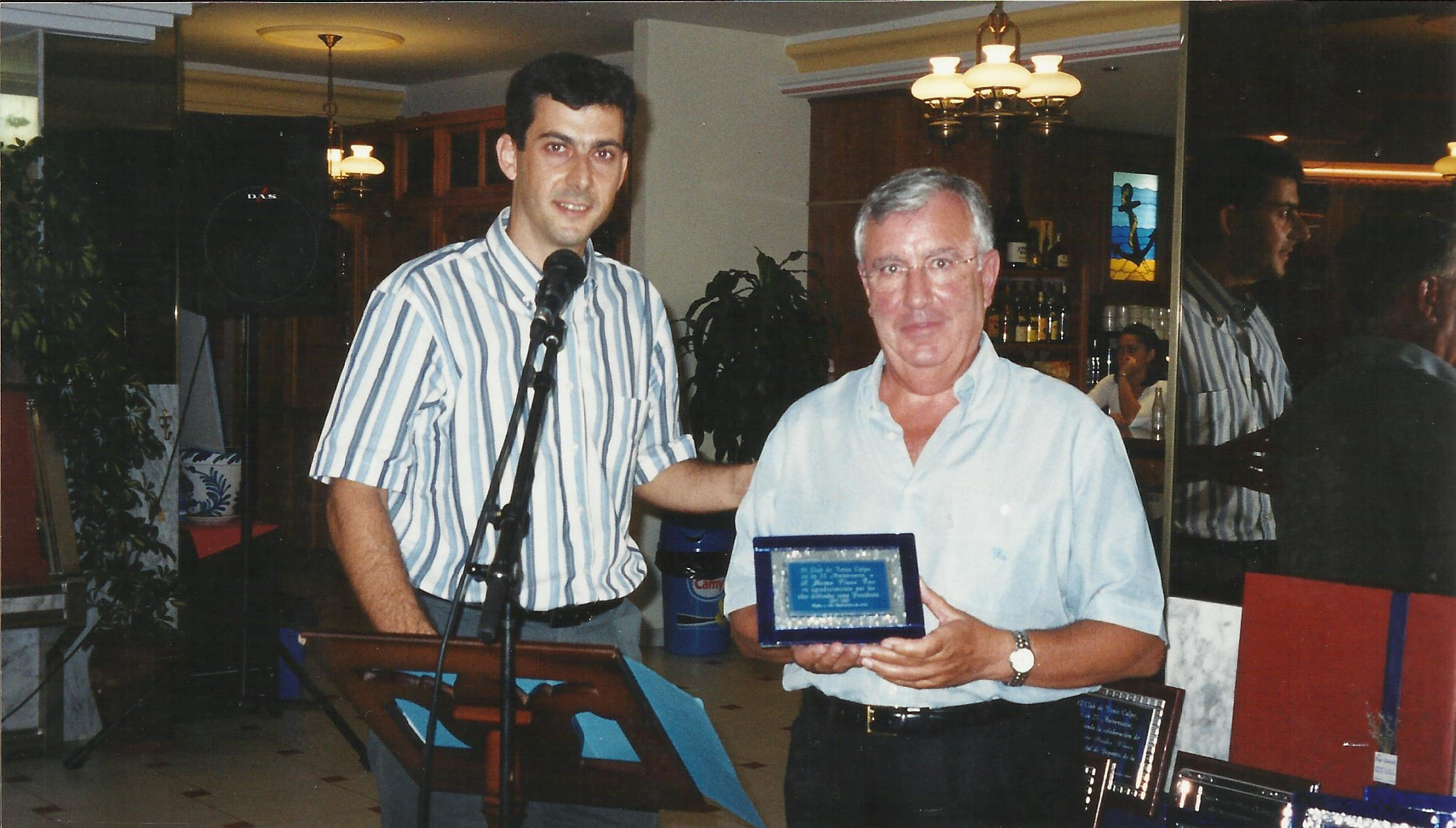 25 Aniversario Club de Tenis Calpe