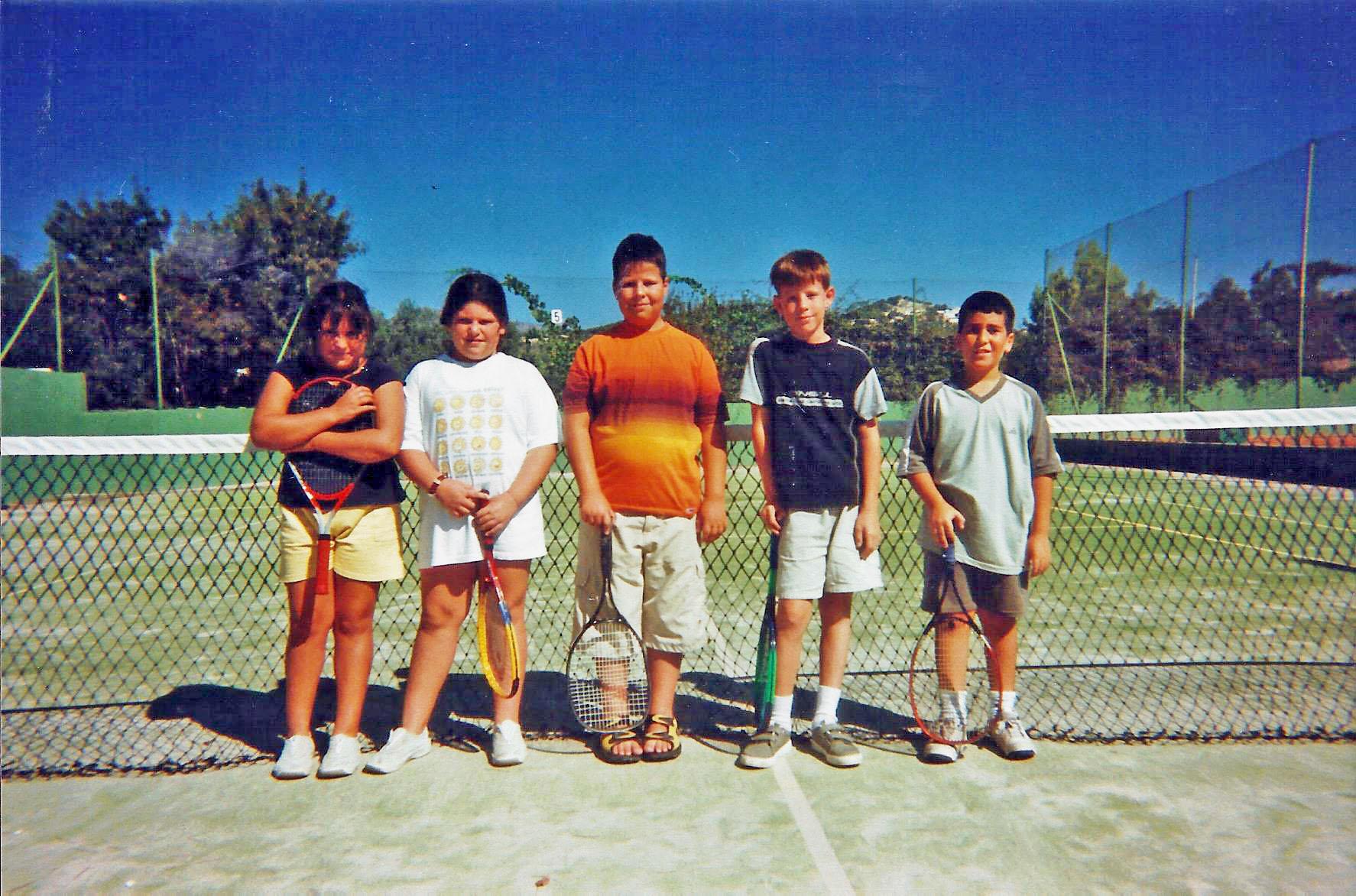 Equipo tenis junior