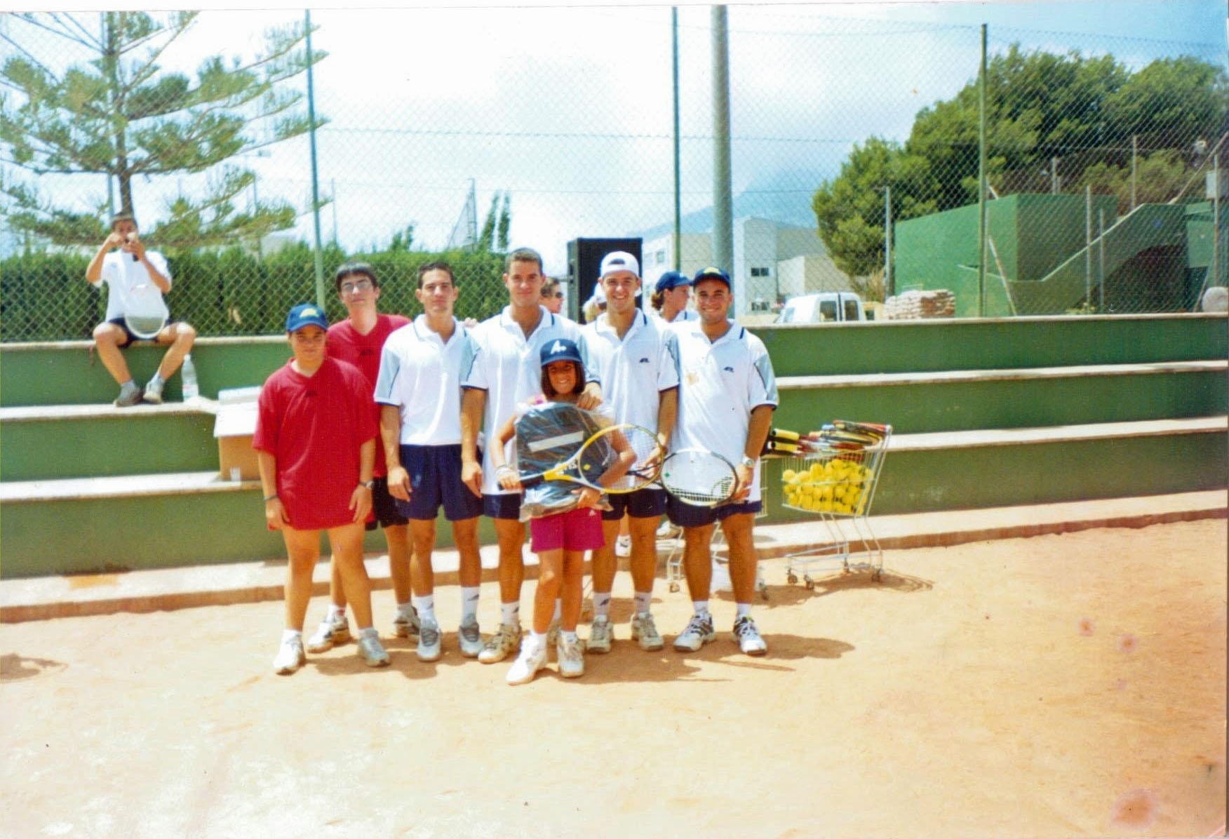 Inauguración Escuela Tenis