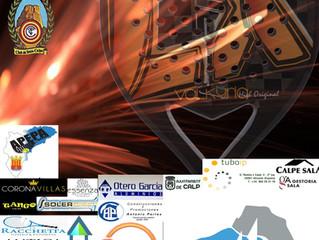 Torneo Bronce Pádel 2020, del 28 de Julio al 2 de Agosto.