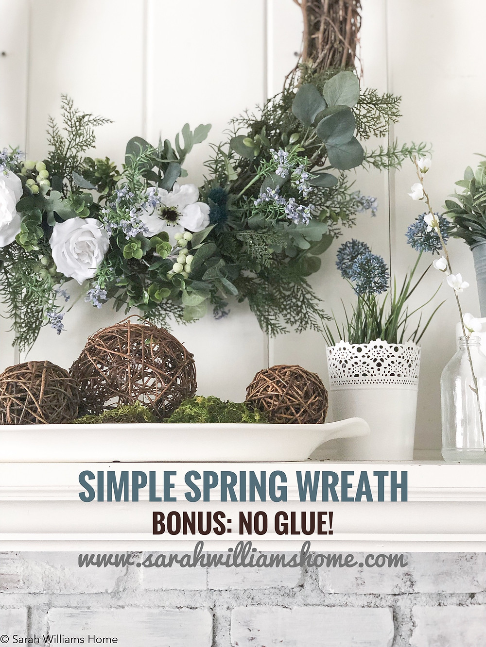 Spring Grapevine wreath