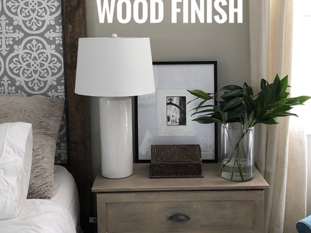 How To Get the Restoration Hardware Wood Finish Using the Whitewashing Technique and Stain