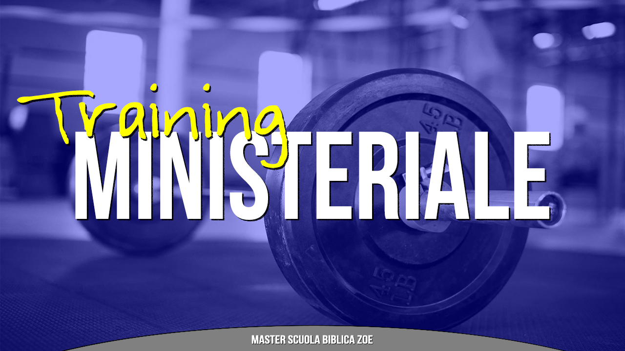 Master - Training Ministeriale