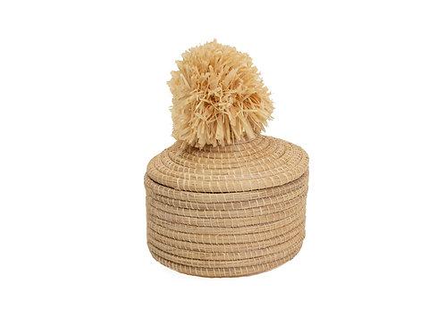 Natural Pom Pom Box