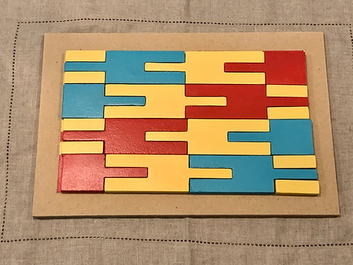 Afa Kente Cloth Puzzle
