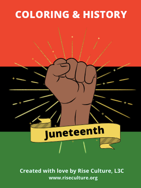Juneteenth Coloring & History