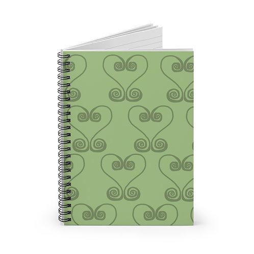 Sankofa Spiral Notebook - Ruled Line