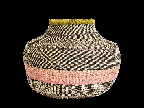 Peachy  Grass Short Pot
