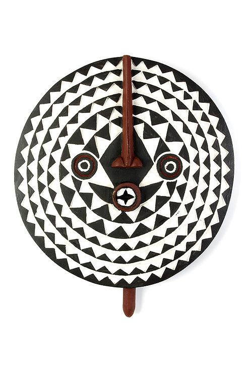 Bwa Wooden Sun Mask