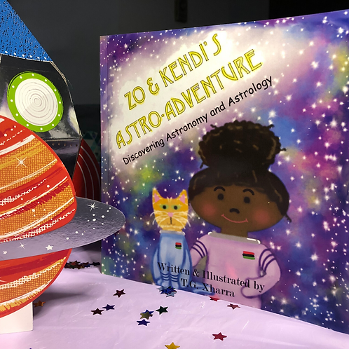 Zo and Kendi's Astro Adventure: Discovering Astronomy & Astrology