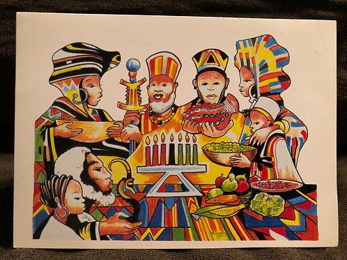 Karamu Kwanzaa Card