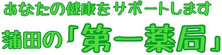 蒲田の第一薬局