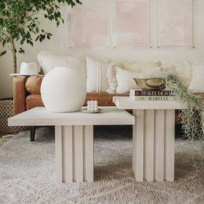 It's a CB2 Nesting Coffee Tables Dupe, Honey!