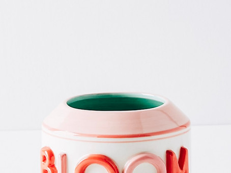 It's an Anthropologie Planter Dupe DIY, Honey!
