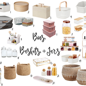 It's a MASSIVE Storage Solutions Roundup for 2021, Honey!