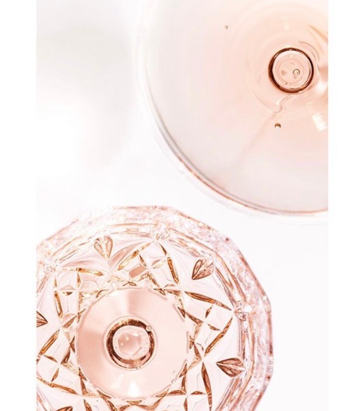 Rosé Drinks Poster