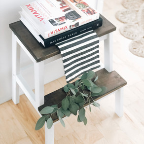 It's a DIY Cute Kitchen Step Stool, Honey!