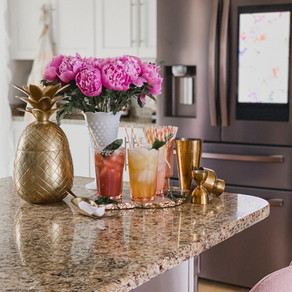 It's Spring Cocktail Recipes with Samsung Home Appliances, Honey!