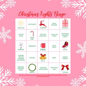 It's Christmas Lights Bingo, Honey!