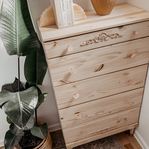 It's a Bedroom Dresser DIY Project, Honey!