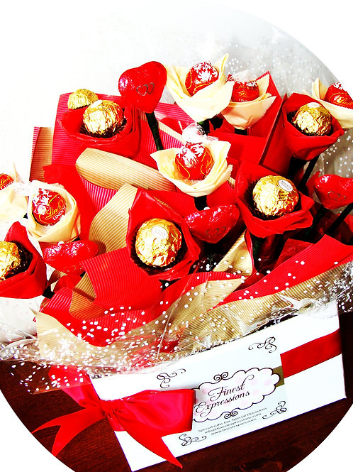 Charming in Red - Candy Bouquet