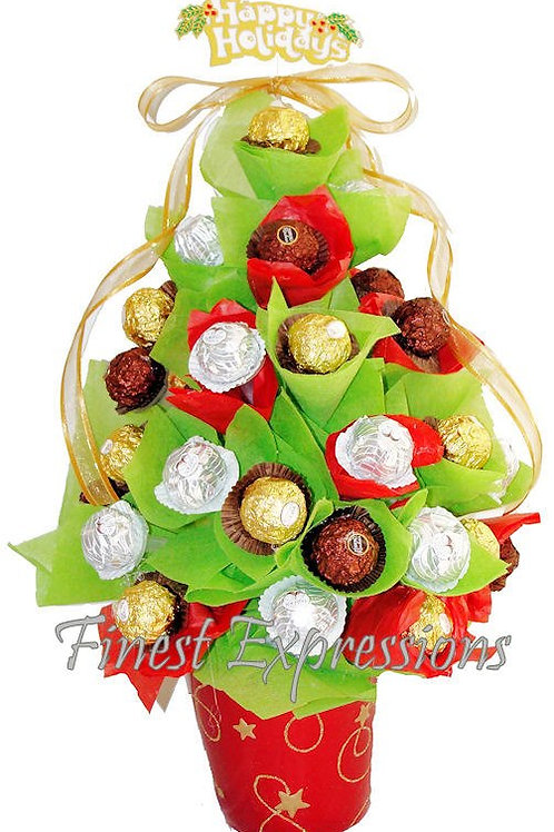 Holiday Tree - Chocolate Bouquet