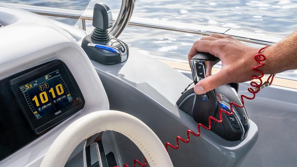 Yamaha Helm Master EX - Reglage & Styrning