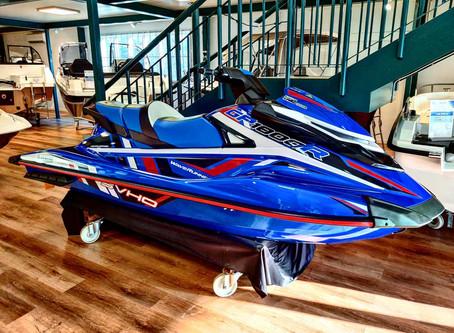 Nya Waverunner GP1800R i utställningen!