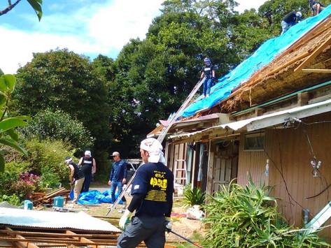 千葉県 台風15号 災害支援活動を行ってまいりました。