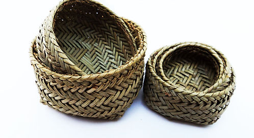 Tarahumara Baskets- 4 MINI