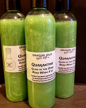 Quarantine glow in the dark body wash 8 OZ