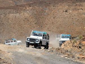 Jeep Safari at Fuerteventura