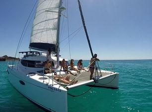 Catamaran Sailing at Fuerteventura