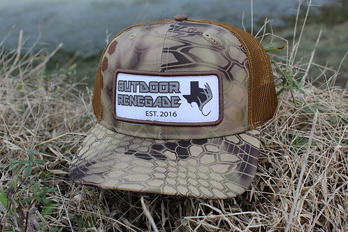 Outdoor Renegade Patch Cap (Kryptek Highlander / Brown)