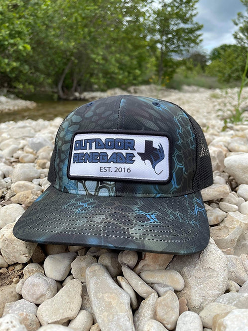 Outdoor Renegade Patch cap (Kryptek Neptune / Black)