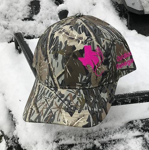 TXANTLER Outdoor Renegade Cap (Upland Camouflage with Neon Pink)