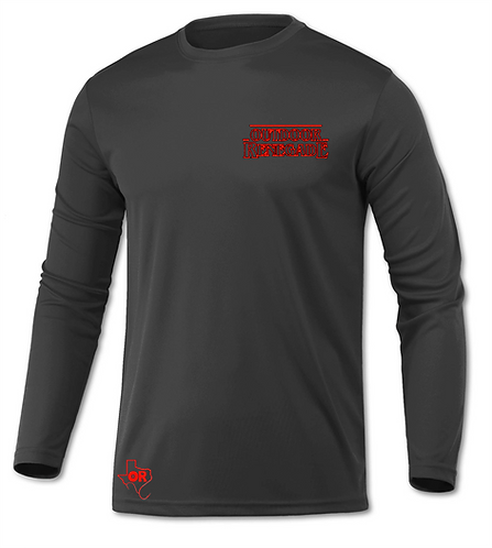 "Outdoor Renegade ""Stringer Things"" Fishing Shirt (Char. and Red)"
