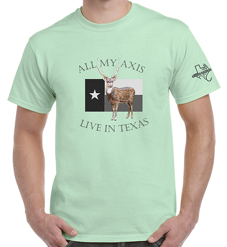 """Outdoor Renegade """"All My Axis"""" Graphic Tee (7 Color Options)"""