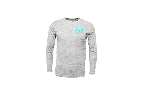 "Outdoor Renegade ""H2OR"" Fishing Shirt  (Bonefish with Ice Blue)"