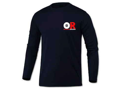 Outdoor Renegade TXANTLER Shirt (Navy w/ White and Red)