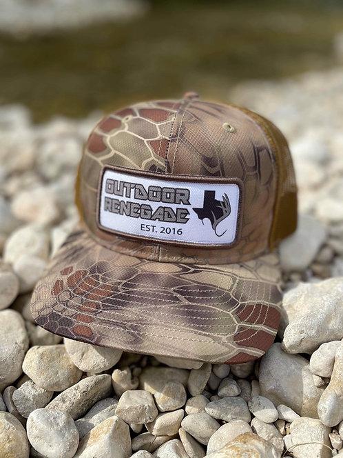 Outdoor Renegade Patch Cap (Kryptek Highlander / Brown)