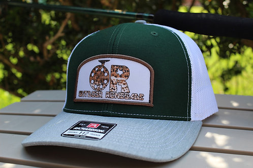 """Outdoor Renegade Patch Cap """"Brown Trout on the Fly"""""""