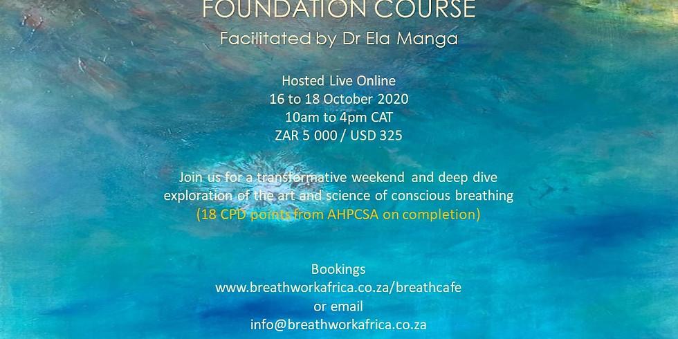Breathwork Foundation Course (3 Days)