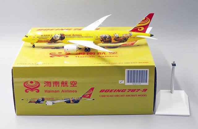 /Defective/Hainan B787-9 Reg:B-1343 Panda 3 JC Wings 1:200 Diecast Models XX2195